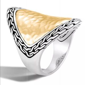 New beautiful sterling silver statement ring